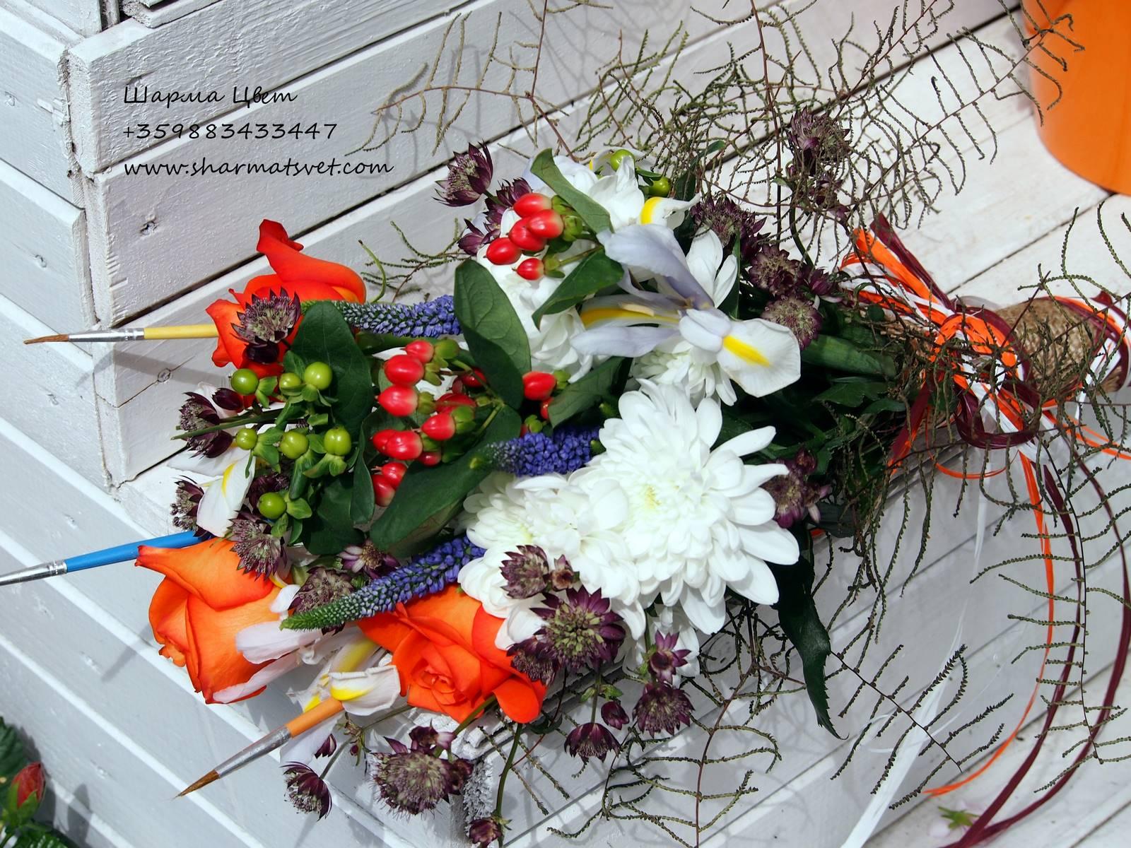 Art bouquet
