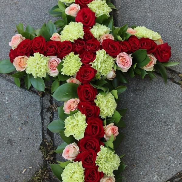 Траурна аранжировка от цветя
